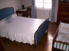 chambre bleu du gite la perigourdine en dordogne